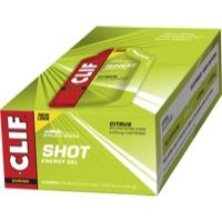Clif Bar Shot Gels - Citrus w/ Caffeine (24 Pack)
