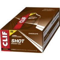 Clif Bar Shot Gels - Chocolate (24 Pack)