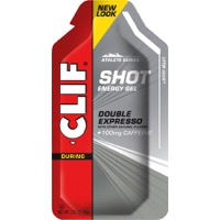 Clif Bar Shot Gels - Double Expresso Turbo w/ Caffeine (Single Serving)