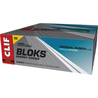 Clif Bar Shot Bloks Energy Chews - Tropical Punch (Box of 18)