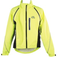 O2 Rainwear Nokomis Cycling Jacket - Yellow - Large (Yellow)