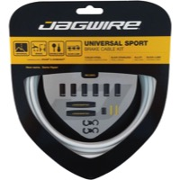 Jagwire Universal Sport Brake Cable/Housing Set - White