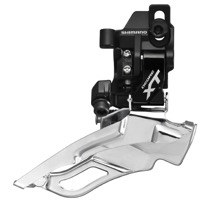 Shimano FD-M781 XT Direct Mount Front Derailleur - 3 x 10 Speed - Direct Mount, Dual Pull (Black)