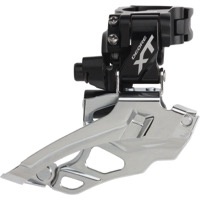 Shimano FD-M786 XT Double Front Derailleur - 2 x 10 Speed - Black, Top Pull Only (28.6/31.8/34.9mm)