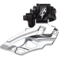 Shimano FD-M786 XT Double Front Derailleur - 2 x 10 Speed - Black, Dual Pull (28.6/31.8/34.9mm)