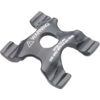 Campagnolo Lower Seatpost Clamp - 0.5mm TPI Lower Clamp (Black)