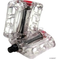 "Odyssey Twisted PC Pedals - 9/16"" - Pair (Clear)"