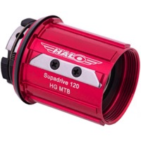 Halo Freehub Bodies - Shimano 8-11 Speed, Alloy (Supa Drive)
