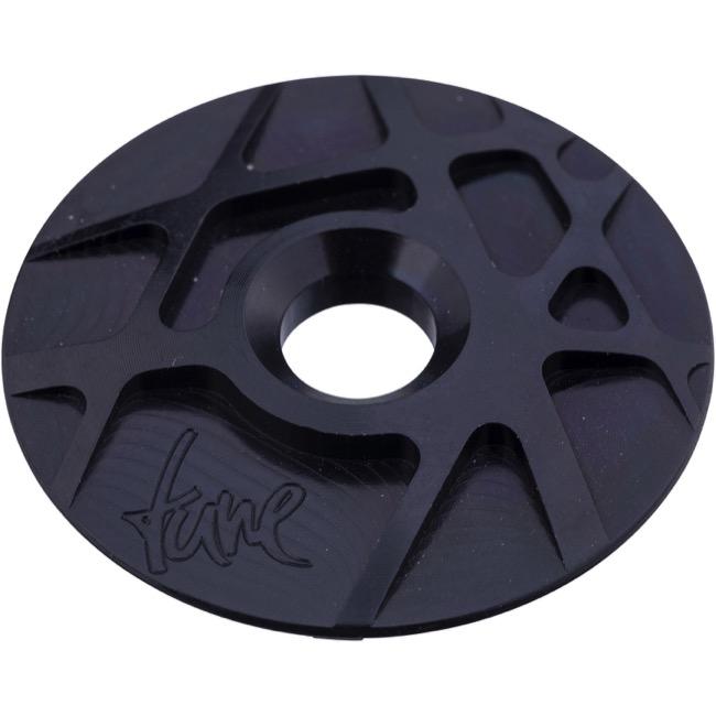 Tune Aluminium Top Cap /& Bolt Black