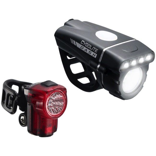 Cygolite DICE 150 /& 50 Bicycle Headlight /& Tail Light Combo Set USB Rechargeable