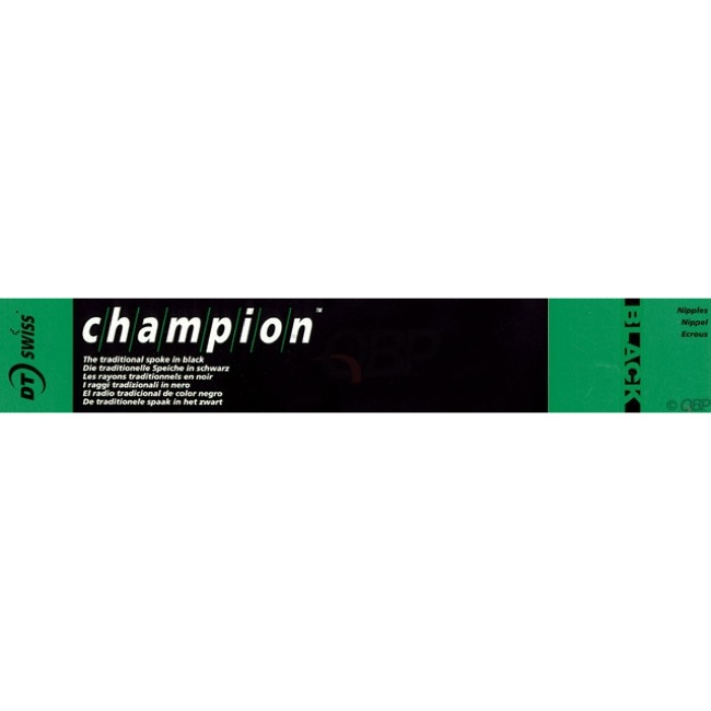 4 x spokes Dt-Swiss Champion 160 mm 2,0 or 2,34 mm Straight Pull//J-Bend