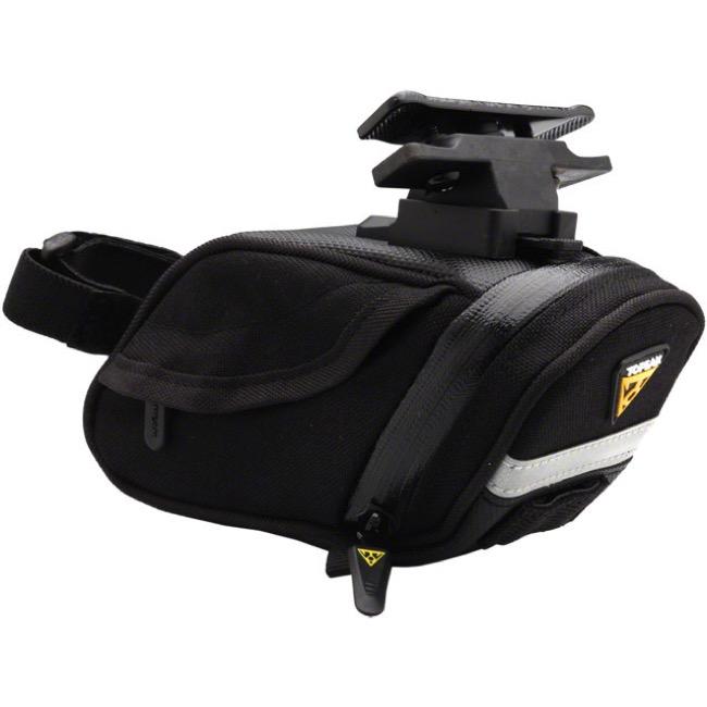 Topeak Aero Wedge DX QR Waterproof Teflon Coated Saddle Bag w// Seatpost Strap