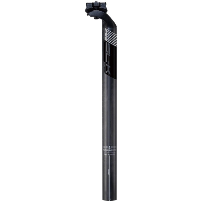 NEW FSA SLK UD carbon 27.2mm 350mm SB20 MTB Maintain Bike seatpost Gray W