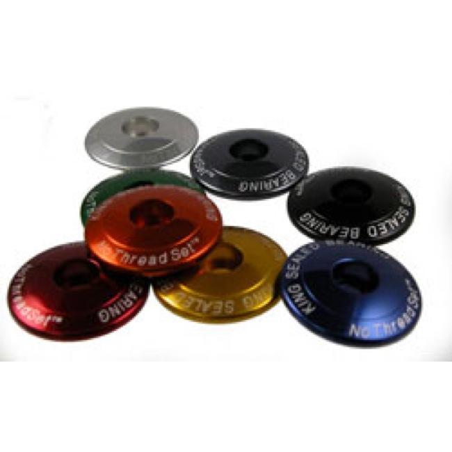 "NEW  Blank Plain Headset Top Cap 1-1//8/"" Threadless Topcap Aheadset in Colors"