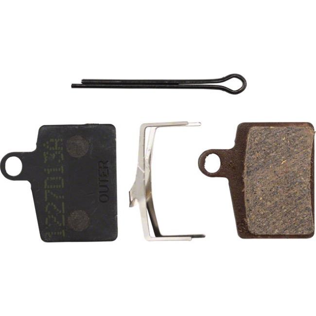 Hayes Semi-Metallic Disc Brake Pads Dyno//Ryde T122