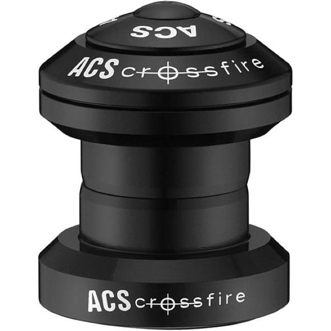 "Black Details about  /ACS Headset Crossfire External 63825-1000 1/"""