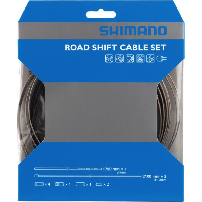 Shimano Shift Cable Set Load for Sus Black Y60098022 25634 fromJAPAN for sale online