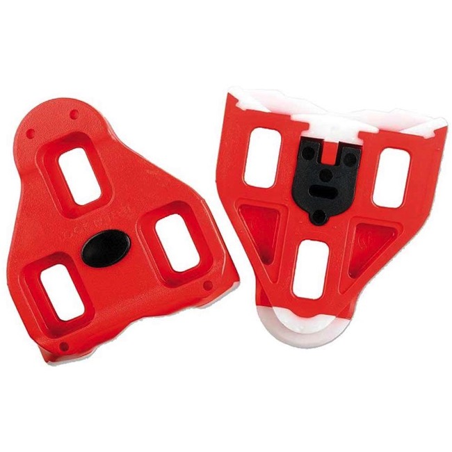 Red Velox Look Keo Compatible Cleats