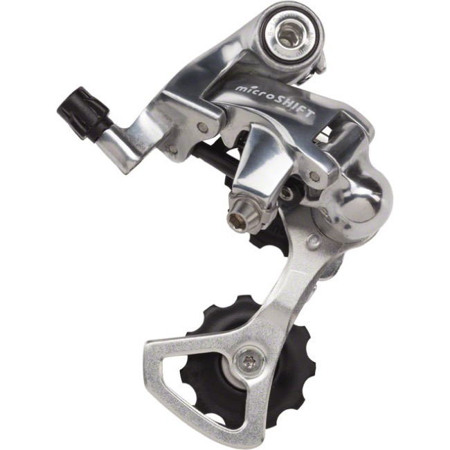 Short Cage 9 Speed NEW microSHIFT Rear Derailleur 11T-33T RD-R42S 8