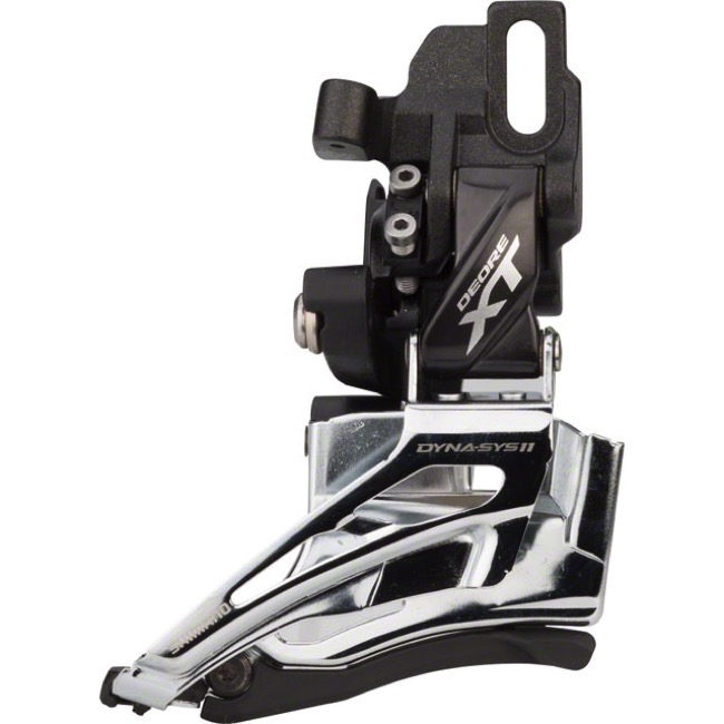 Low Clamp Derailleur 2-fach Black Shimano XT M8025-L 2x11s