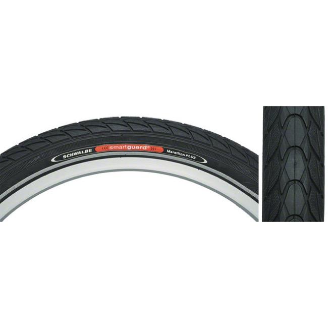 26 x 1.75 SCHWALBE MARATHON Puncture Resistant Bike Tyre Black FREE TUBE*