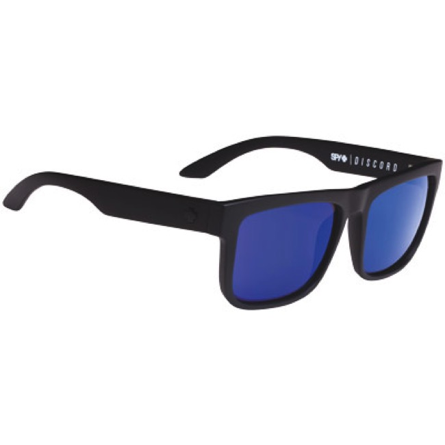 0d69c555d9e Spy Optic Discord Polarized Sunglasses - Matte Black - Matte Black (Happy  Bronze Polar w