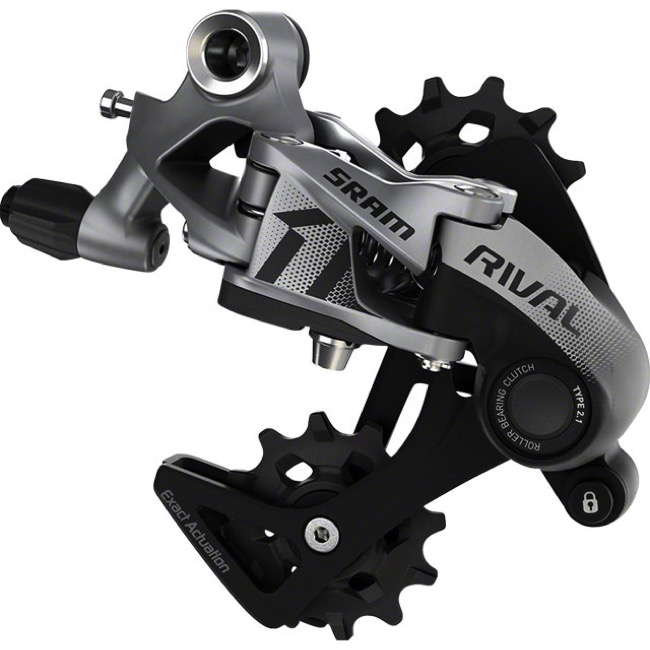 SRAM Rival 11 speed Type 2.1 Mid Cage Rear Derailleur