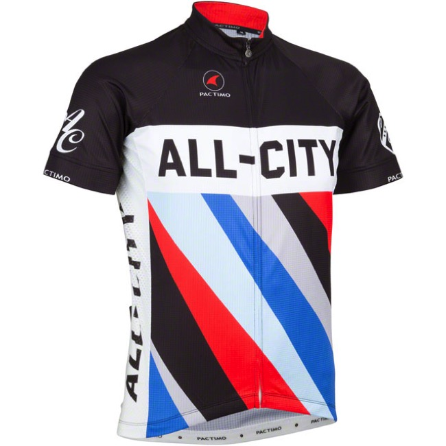 8379e929a16 Universal Cycles -- All-City Zig Zag Men s Jersey - Black Red Blue
