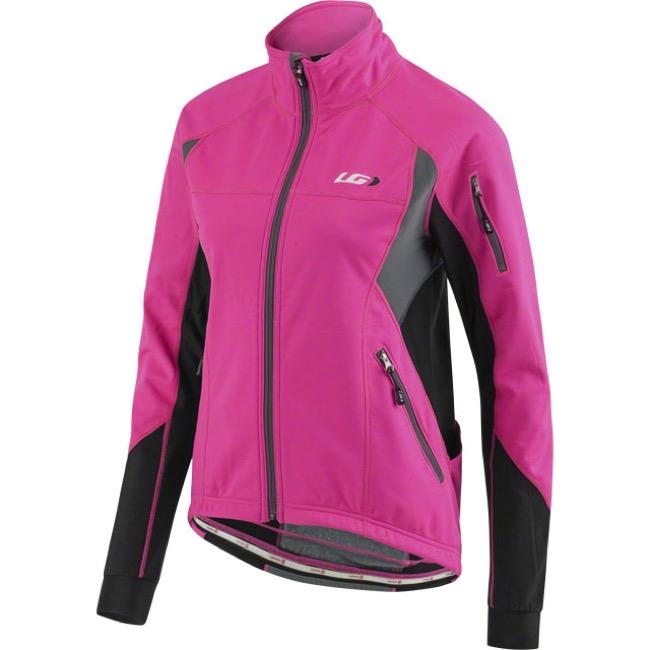 Louis Garneau Enerblock 2 Cycling Jacket - Pink Glow - Small (Pink Glow) bce27c8db
