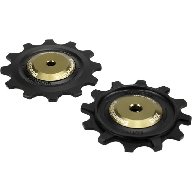 Enduro XD-15 Ceramic Bearing Derailleur Pulleys - Shimano 9/10/11 Speed  (Black)