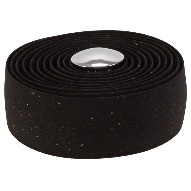 Charcoal Gray 26397 Soma Thick and Zesty Cork Bar Tape