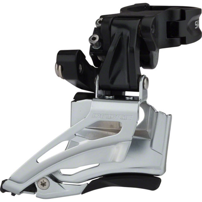 Dual Pull Shimano Deore 2x10 Front Derailleur FD-M618-D Direct