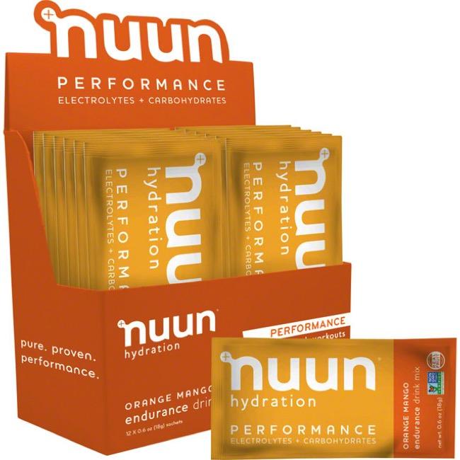 Nuun Hydration Performance Drink Mix Blueberry Strawberry 12 Sachets Electrolyte