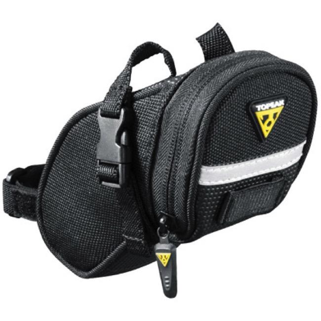 Large Medium Topeak TC2260B TC2261B TC2262B AERO WEDGE PACK Saddle Bag Small