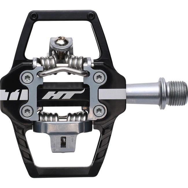 Fahrradteile & -komponenten HT Components T-1T Clip Pedals Ti Black