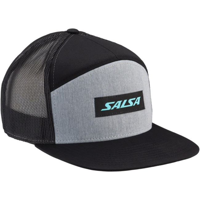 c1929dea More Salsa Baseball Style Caps... Salsa Devour 7-Panel Snapback Hat - Grey/ Black