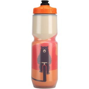 Salsa Insulated Purist Water Bottle - Solar Bear Yellow