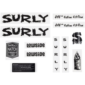 Surly Lowside Decal Set