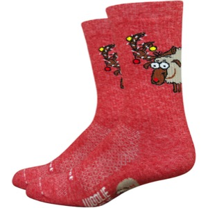 "DeFeet Woolie Boolie 6"" Comp Lambert Socks - Red"