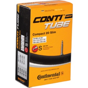 "Continental Standard Presta Tube - 20"" Road"