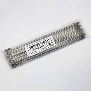 Wheelsmith Straight Gauge Spokes - Silver