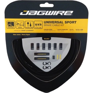 Jagwire Universal Sport Brake Cable/Housing Set