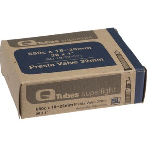 Q Tubes Super Light Presta Tubes - 650c