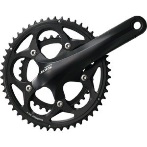 Shimano FC-5750 105 Double Crankset - 10 Speed