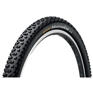 "Continental Mountain King ProTection 26"" Tire 2017 - Tubeless Ready!"