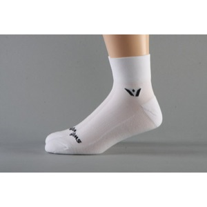 Swiftwick Performance Two Socks - White