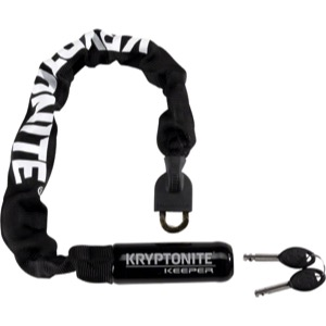 "Kryptonite Keeper Integrated Chain Lock - 21.6"", 33.5"", or 47.3"""