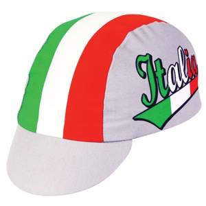 Pace Italia Cycling Cap - Green/Red/White