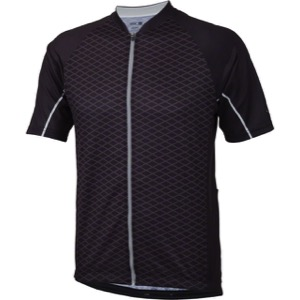 Whisky Parts Co. #5 Grid Jersey - Black