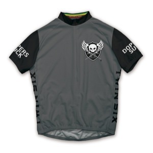 Twin Six Dopers Suck Jersey - Gray/Black